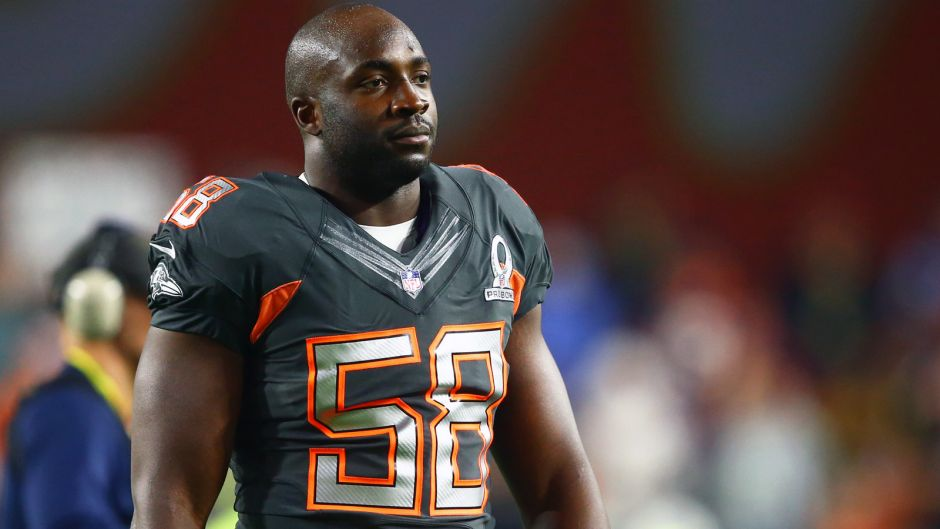 Elvis Dumervil's trip to the Pro Bowl became a comedy of disasters