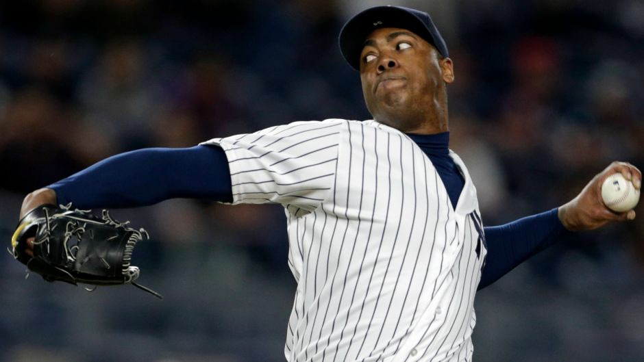 Yankees closer Aroldis Chapman looks ridiculously yolked in latest Instagram snap