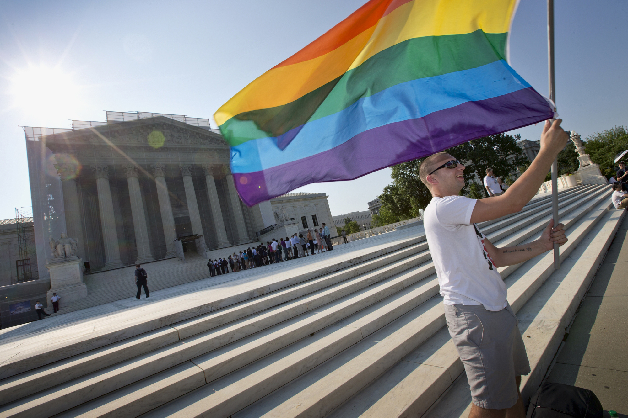 Supreme Court gay marriage case highlights sharp partisan divide among top officials | Fox News