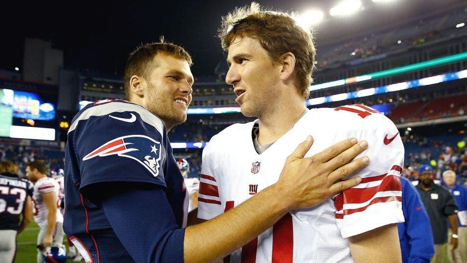 Donald trump Tom Brady congratulates Eli Manning on retirement, adding 'wish you hadn't won any Super Bowls' thumbnail