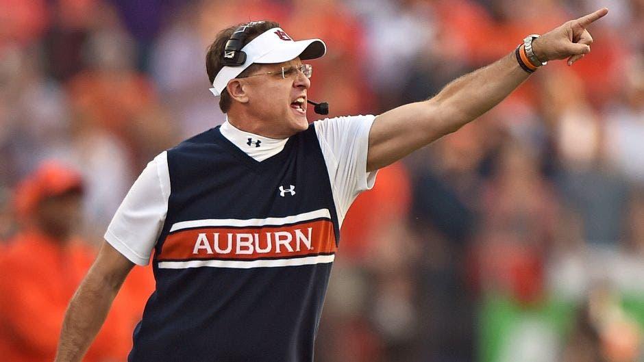Auburn Tigers fire football coach Gus Malzahn after eight seasons