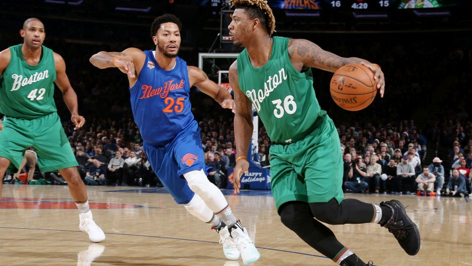 Westlake Legal Group 122516-nba-boston-celtics-new-york-3558a0f622739510VgnVCM100000d7c1a8c0____ Boston Celtics' Marcus Smart details painful eye injury: 'I thought I was going blind for a while' Ryan Gaydos fox-news/sports/nba/boston-celtics fox-news/sports/nba fox news fnc/sports fnc article 4f9341d9-e528-5635-b48b-0e1467bb61fd
