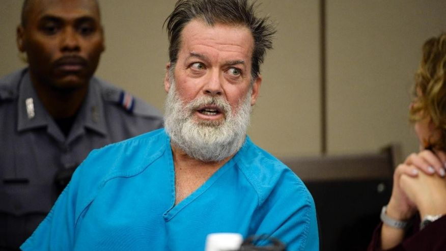 Colorado Planned Parenthood gunman claims he's been forcibly medicated