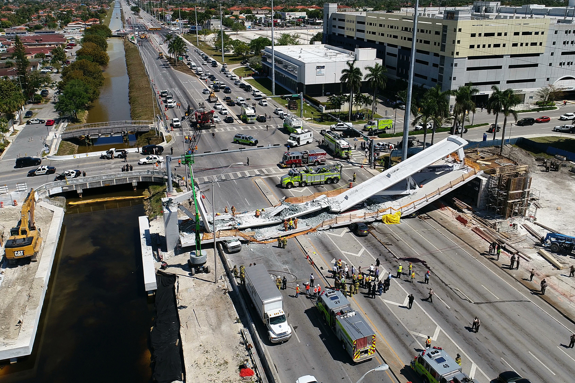 Westlake Legal Group 14_AP18074810371939 Florida bridge-collapse victims would receive up to $42M in tentative deal with bankrupt builder Lukas Mikelionis fox-news/us/us-regions/southeast/florida fox-news/us/disasters fox news fnc/us fnc ca5a8ce9-a589-559f-8991-db82ac385bf6 article