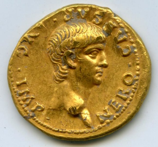 Rare, gold Roman coin discovered in Jerusalem