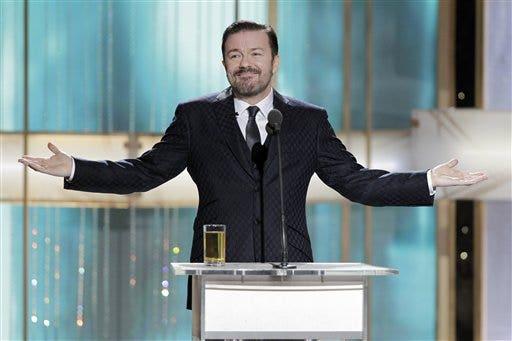 Ricky Gervais sagt Golden Globes Witze ausgeführt werden müssen, sich durch einen Rechtsanwalt vor der Luft: Bericht