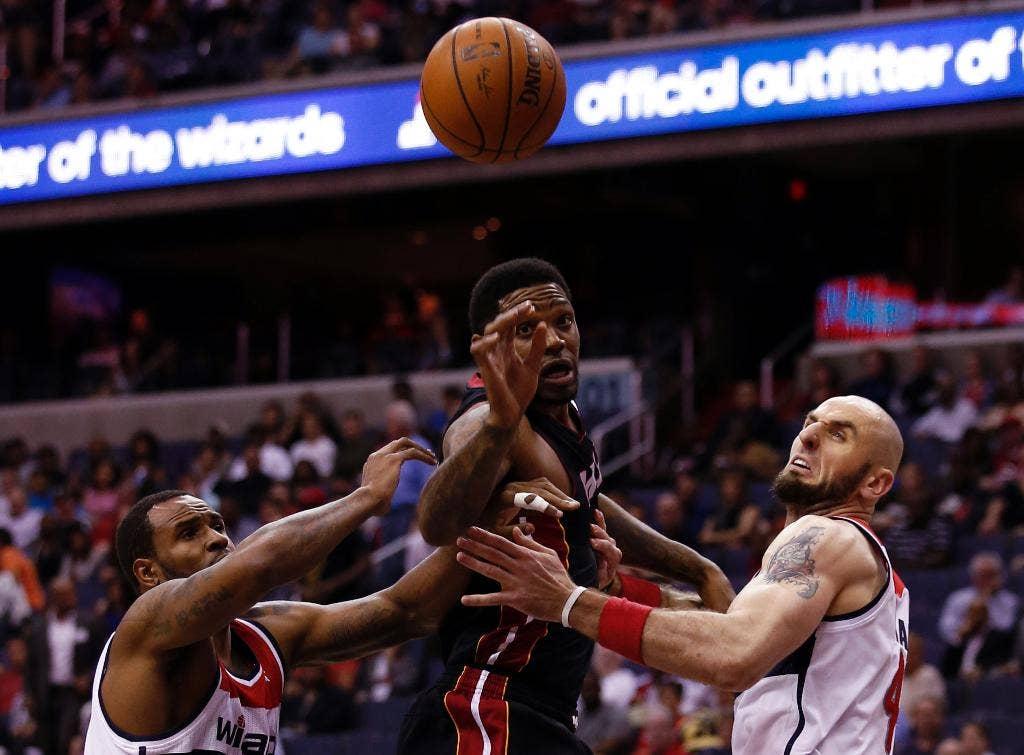 NBA Udonis Haslem knallt Florida spring breakers: 'Halten Sie Ihre ein-zu Hause'