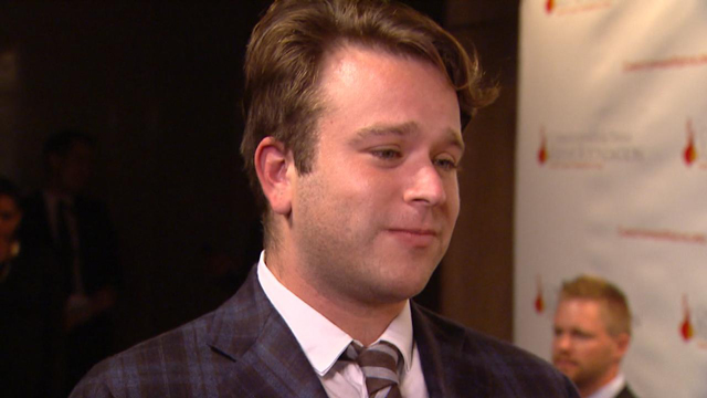 Robin Williams' son speaks out for first time since dad's death