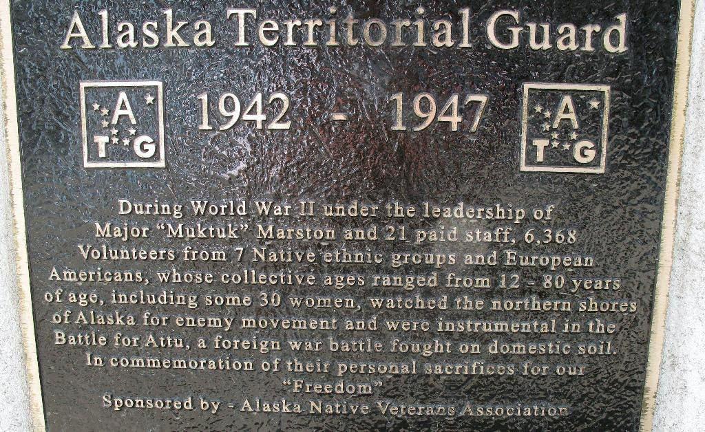 Congressman seeks headstones for WWII Alaska Native militia