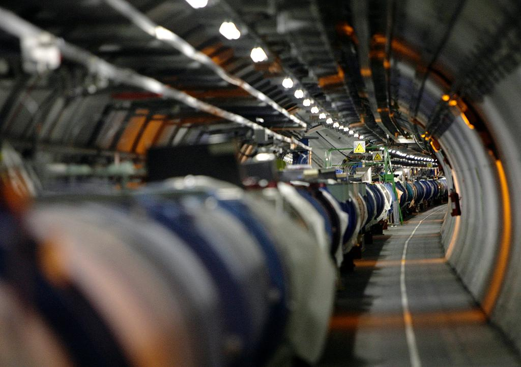 Physicists abuzz about possible new particle as CERN revs up