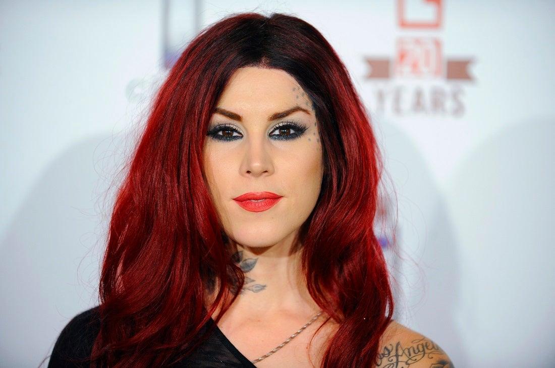 Kat Von D addresses backlash over new blackout tattoo