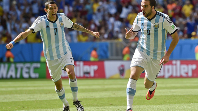 Argentina's Angel Di Maria ruled out of semifinal against the Netherlands