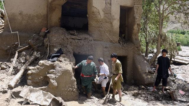 Afghanistan flooding kills at least 80 people