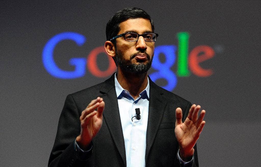 Google CEO Sundar Pichai's House Testimony has been Postponed