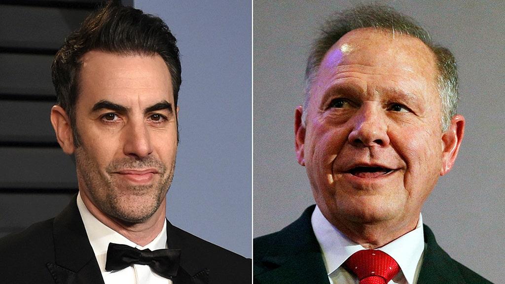 Sacha Baron Cohen seeks to dismiss Roy Moore defamation suit