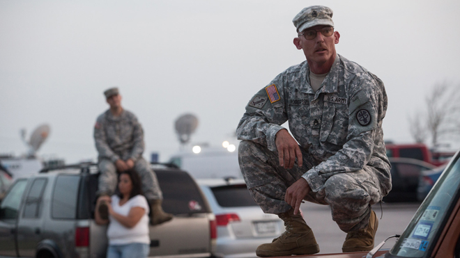 Fort Hood attack: My son, our soldiers, are defenseless, sitting ducks