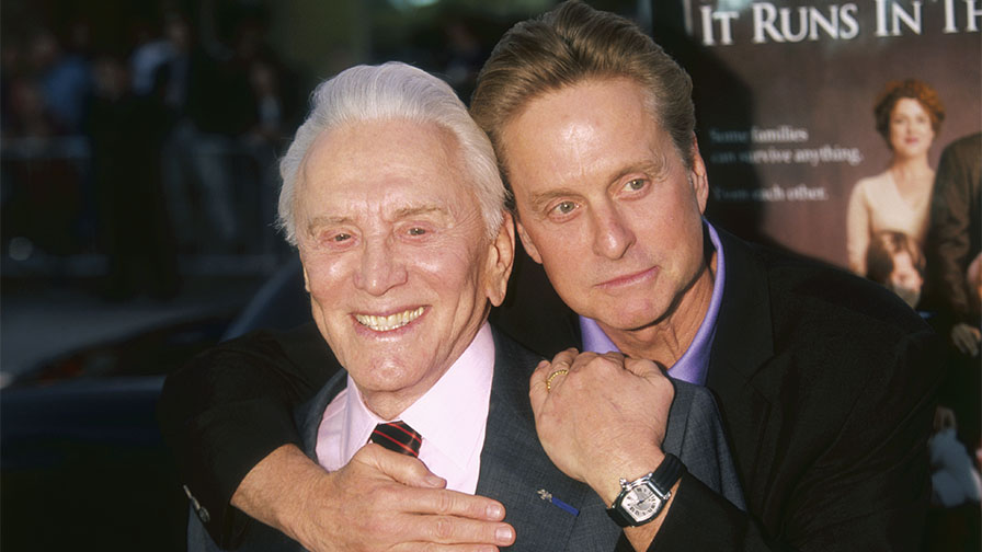 Michael Douglas reveals plans for dad Kirk Douglas' 103rd birthday