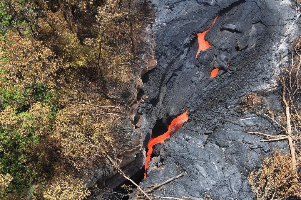 A look at the Hawaii volcano sending lava toward some rural homes