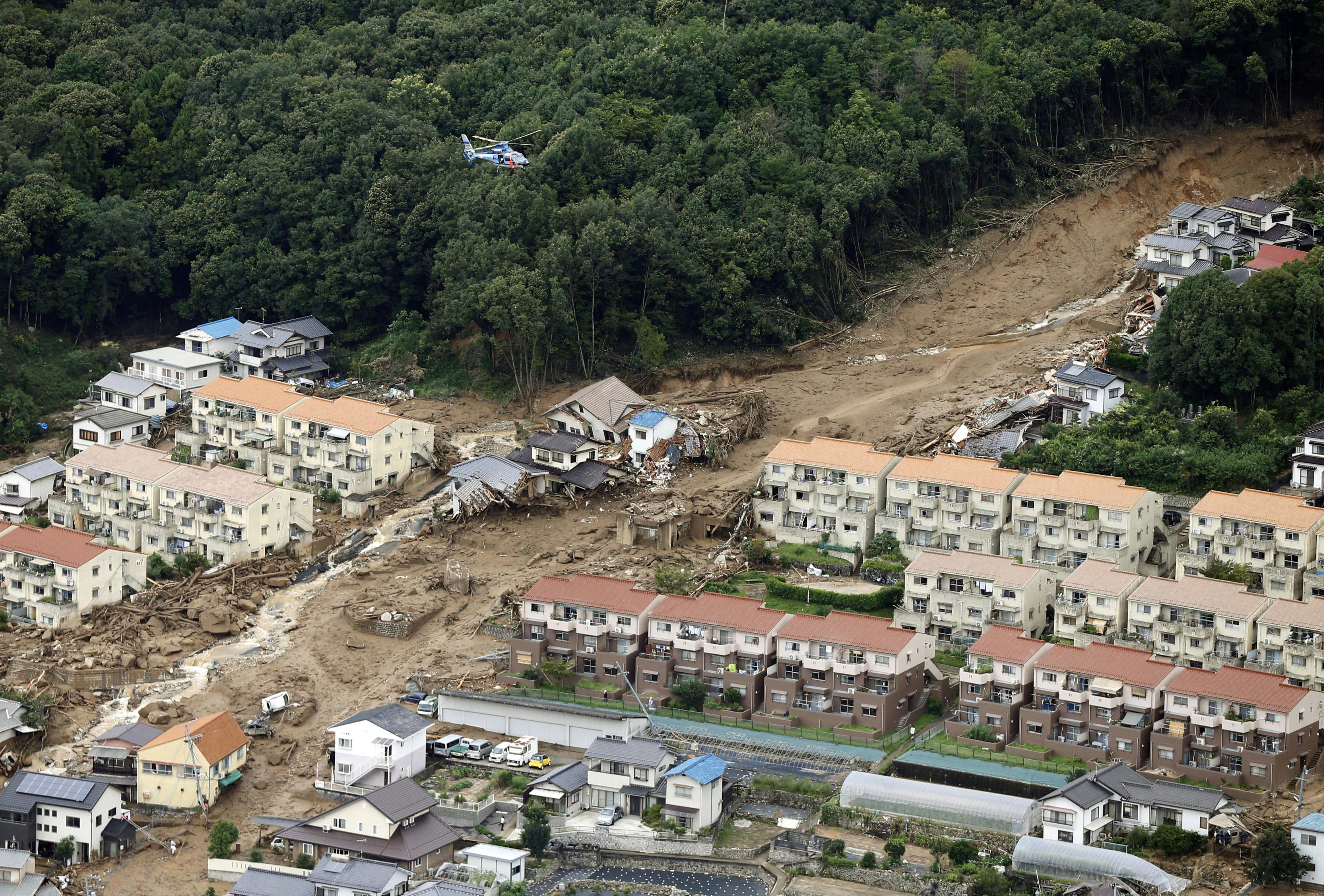 36 dead, 7 missing in Hiroshima landslides