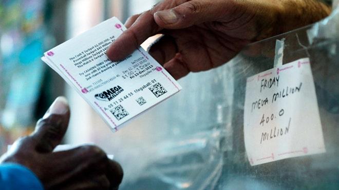 Mega Millions jackpot swells to $400 million