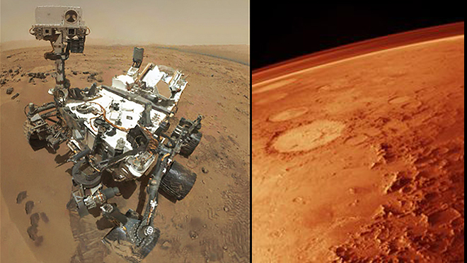 How robots are blazing a trail for manned Mars missions