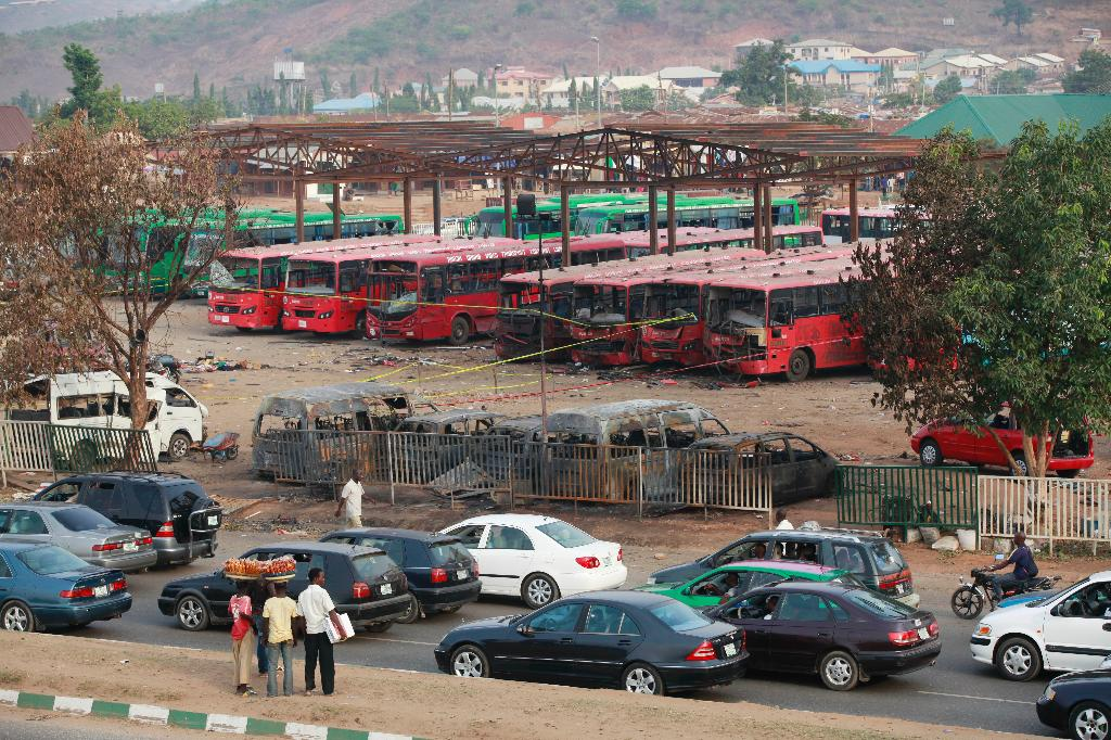 Death toll rises to 75 in Nigeria bus station attack, health minister says