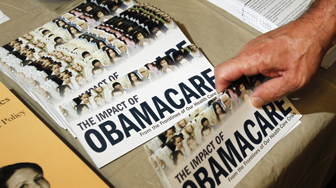 Republicans move to halt ObamaCare 'bailout' for angry unions