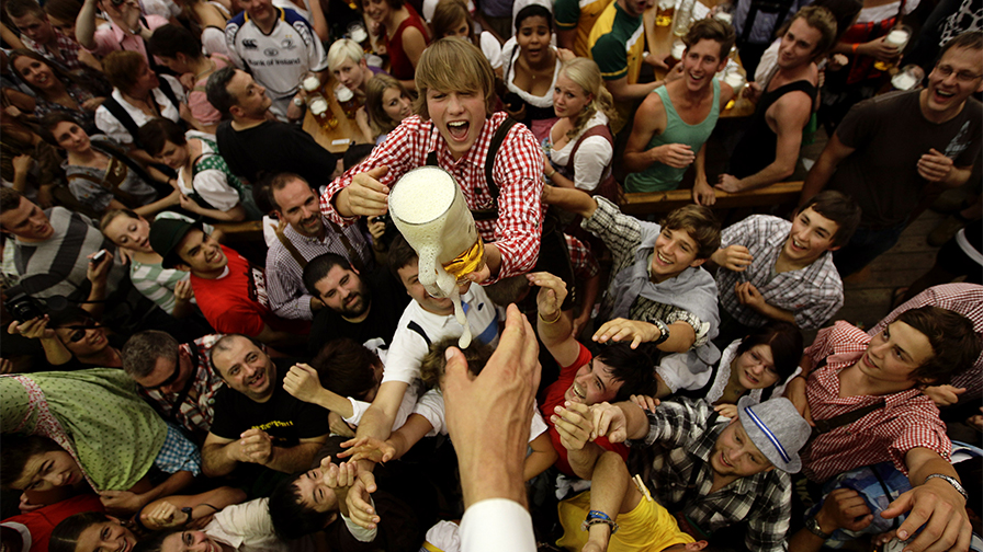 Munich police take custody of baby from intoxicated Texas man at Oktoberfest