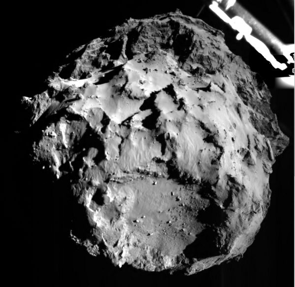 Philae probe reaches comet, makes space history