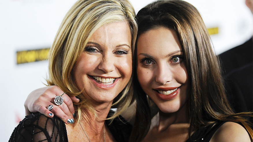 Olivia Newton-John's daughter to compete on 'Dancing with the Stars' in Australia