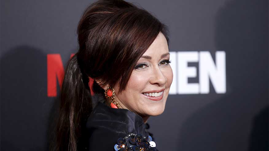 Patricia Heaton to develop Jeffrey Epstein project based on articles about him