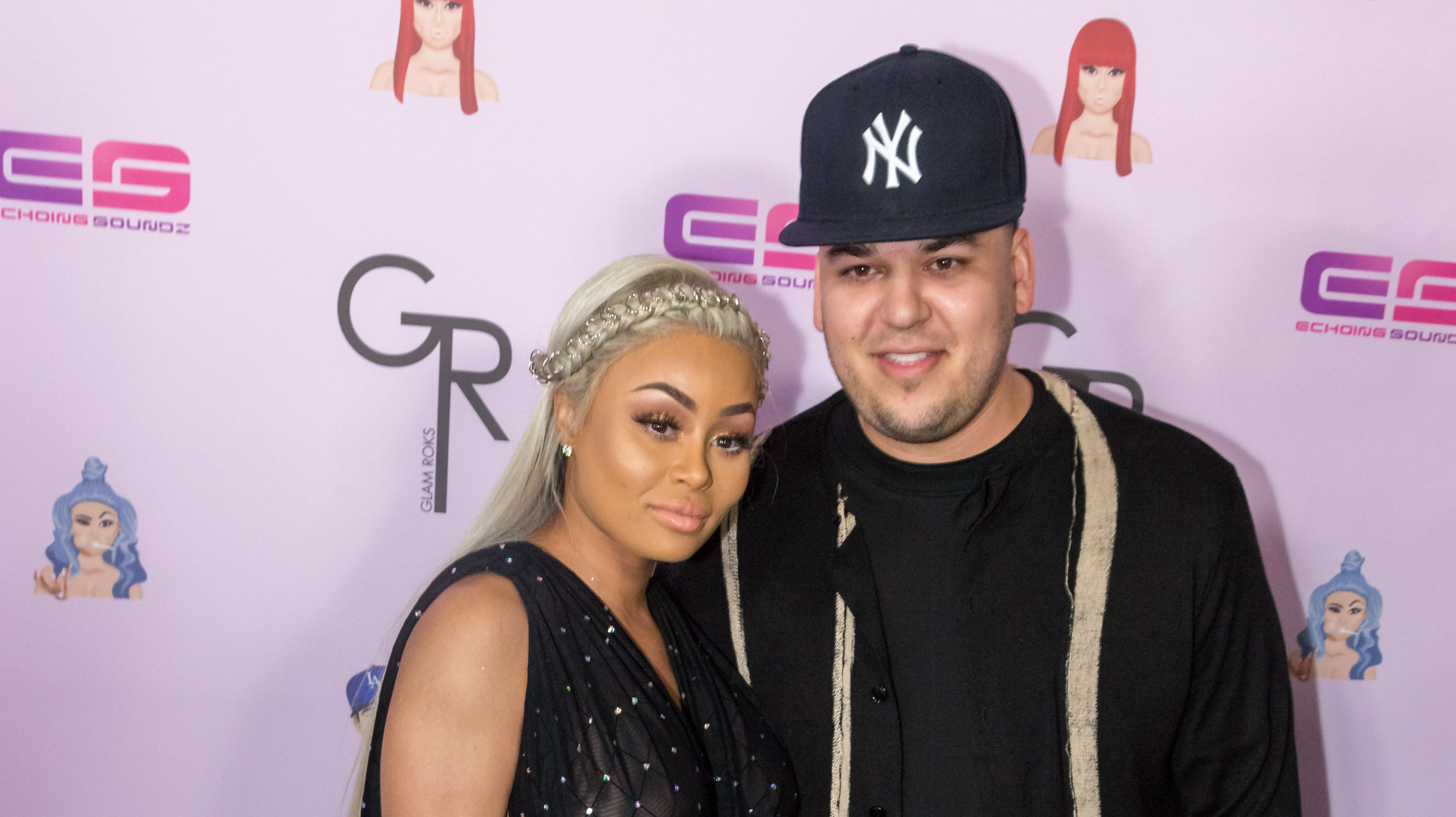 Rob Kardashian's ex Blac Chyna and new flame Alexis Skyy share heated words