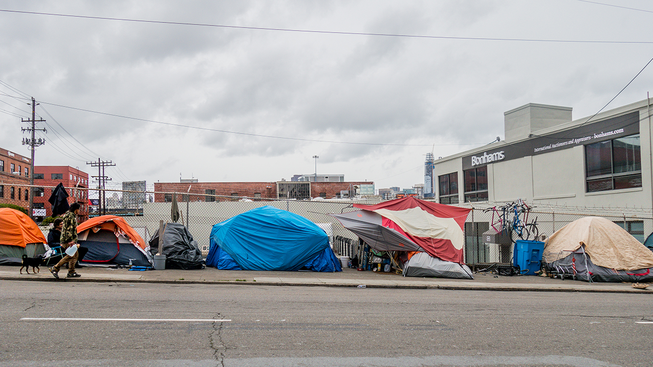 California to shut down large homeless site at...