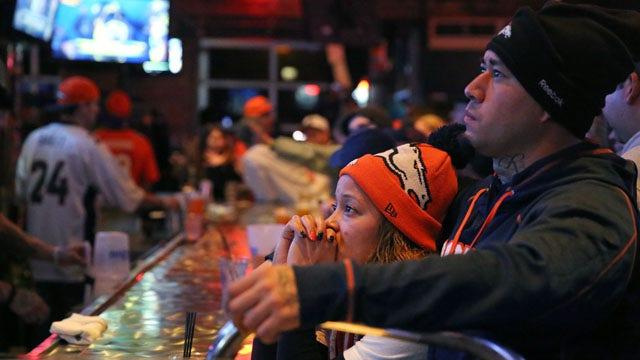 Denver Broncos fans stunned by Super Bowl beating