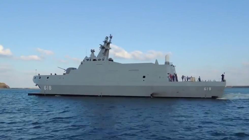 Taiwanese Navy showcases new 'killer' stealth warship