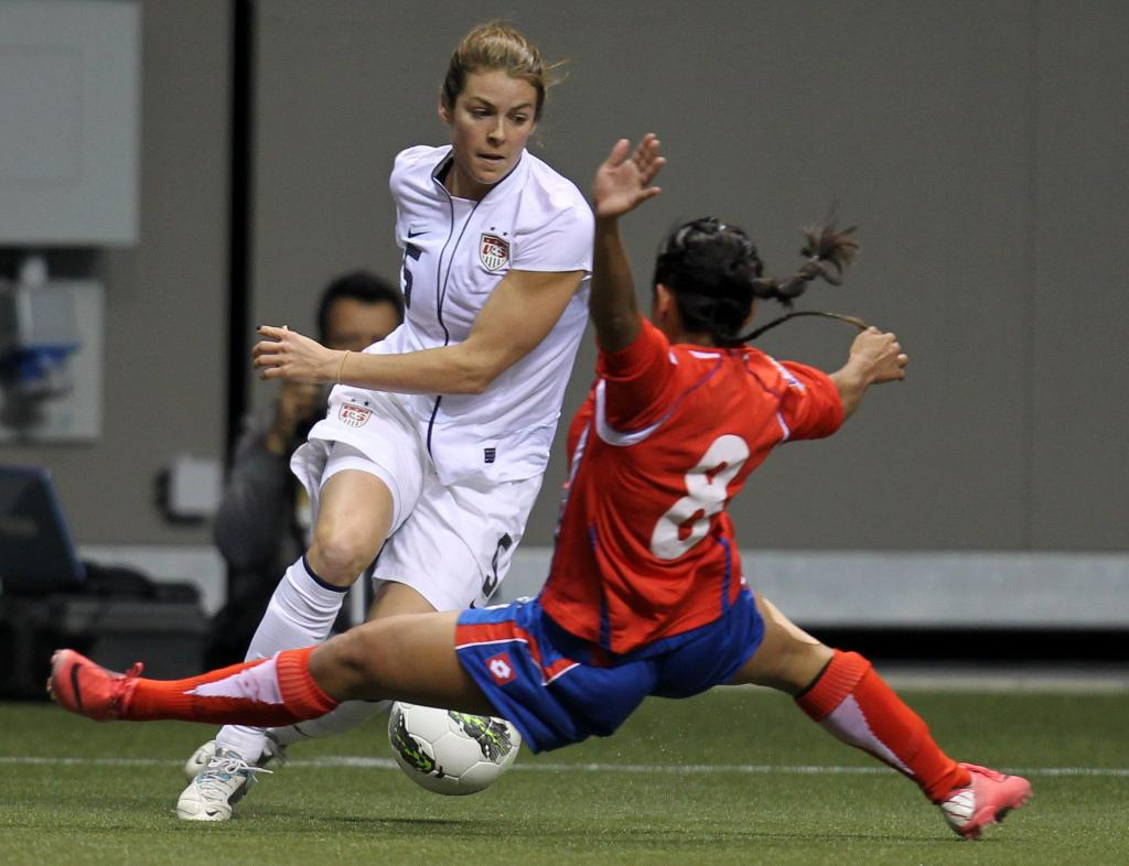 Women's players say a World Cup on artificial turf amounts to discrimination