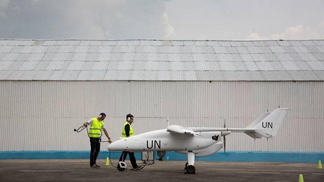 UN using drones to monitor Congo border, fleet to grow this spring