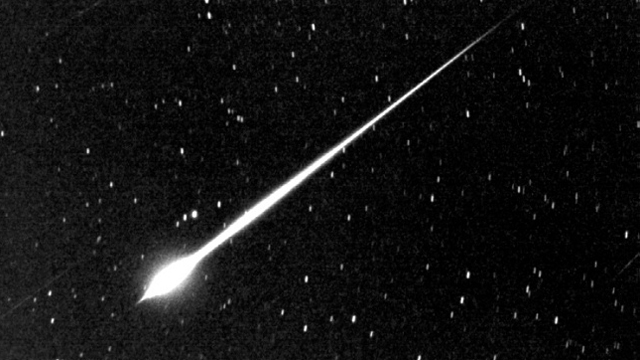 Residents of the U.K. were surprised over the weekend when a slow-moving meteor blazed across the night sky.