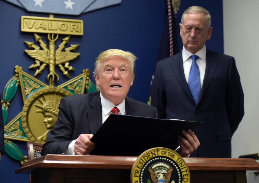 New book claims Mattis said he'd rather 'swallow acid' than watch Trump's military parade