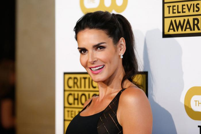 Angie Harmon shares throwback modeling picture: 'Dare y'all to bring the banana clip back'