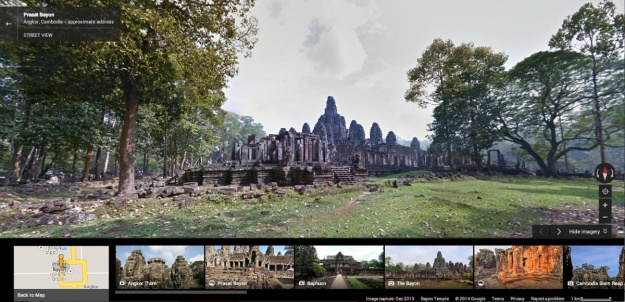 Google Street View lets users explore Angkor's 1000-year-old temples