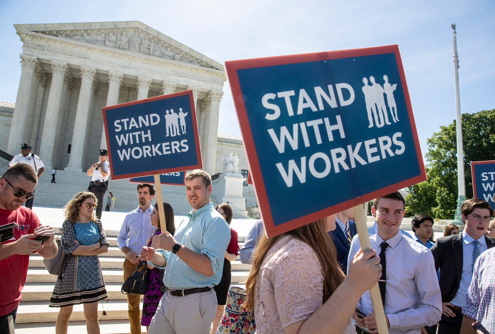 Janus Ruling Fallout: Washington state employees sue to 'escape' union