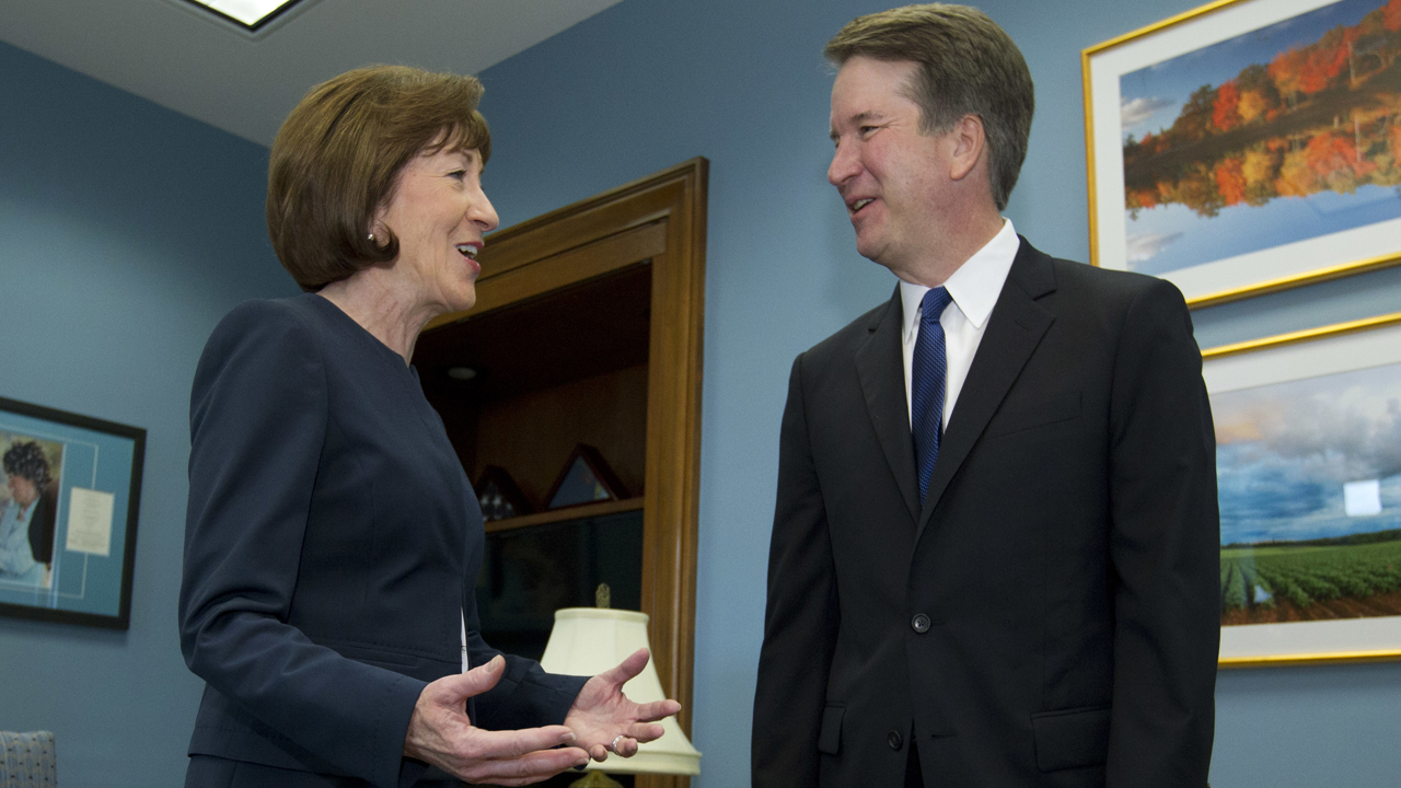 Susan Collins reveals critics' personal attacks over Kavanaugh vote, in Fox News interview thumbnail