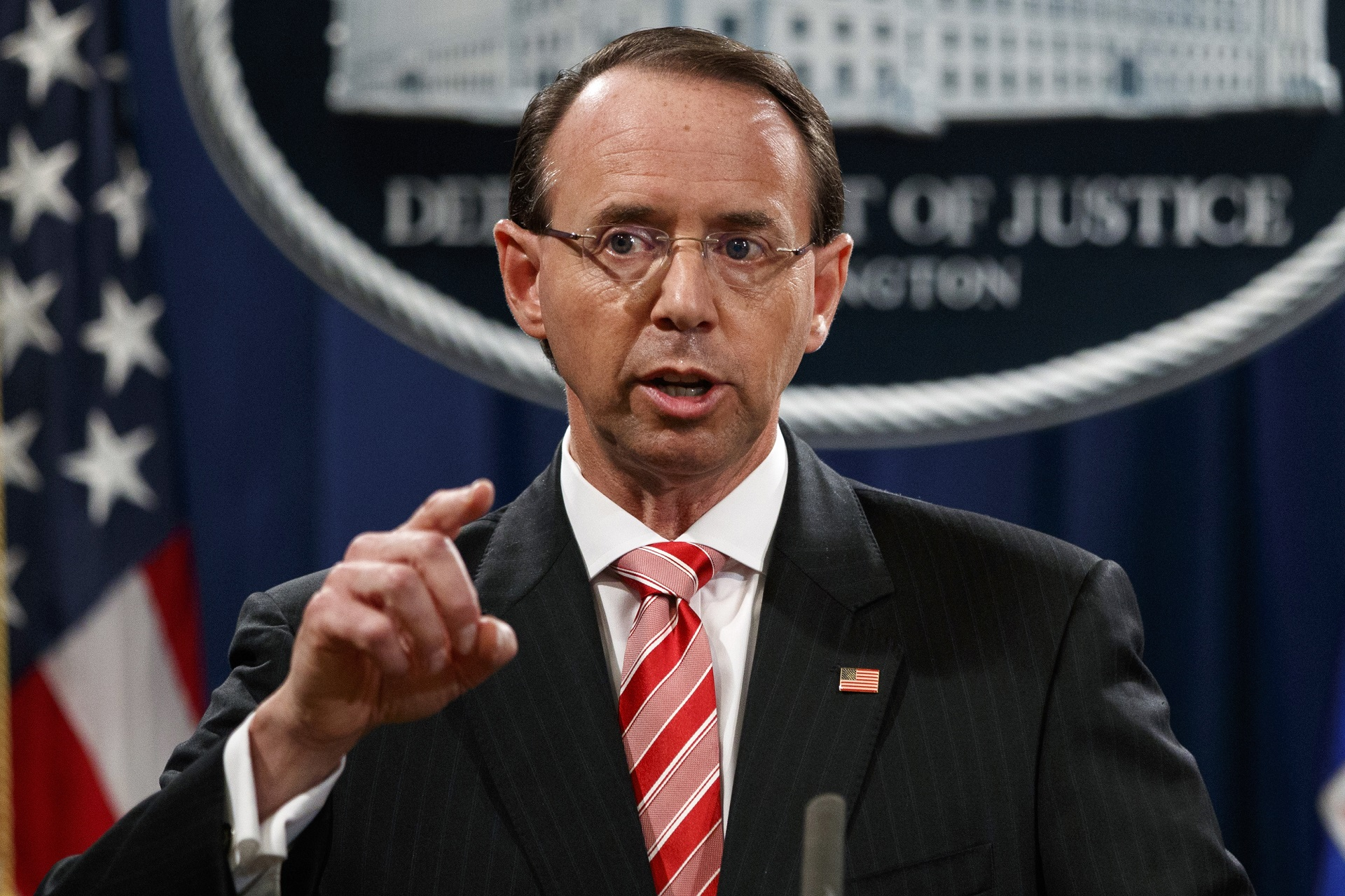 Rosenstein: Special counsel probe is 'appropriate and independent'