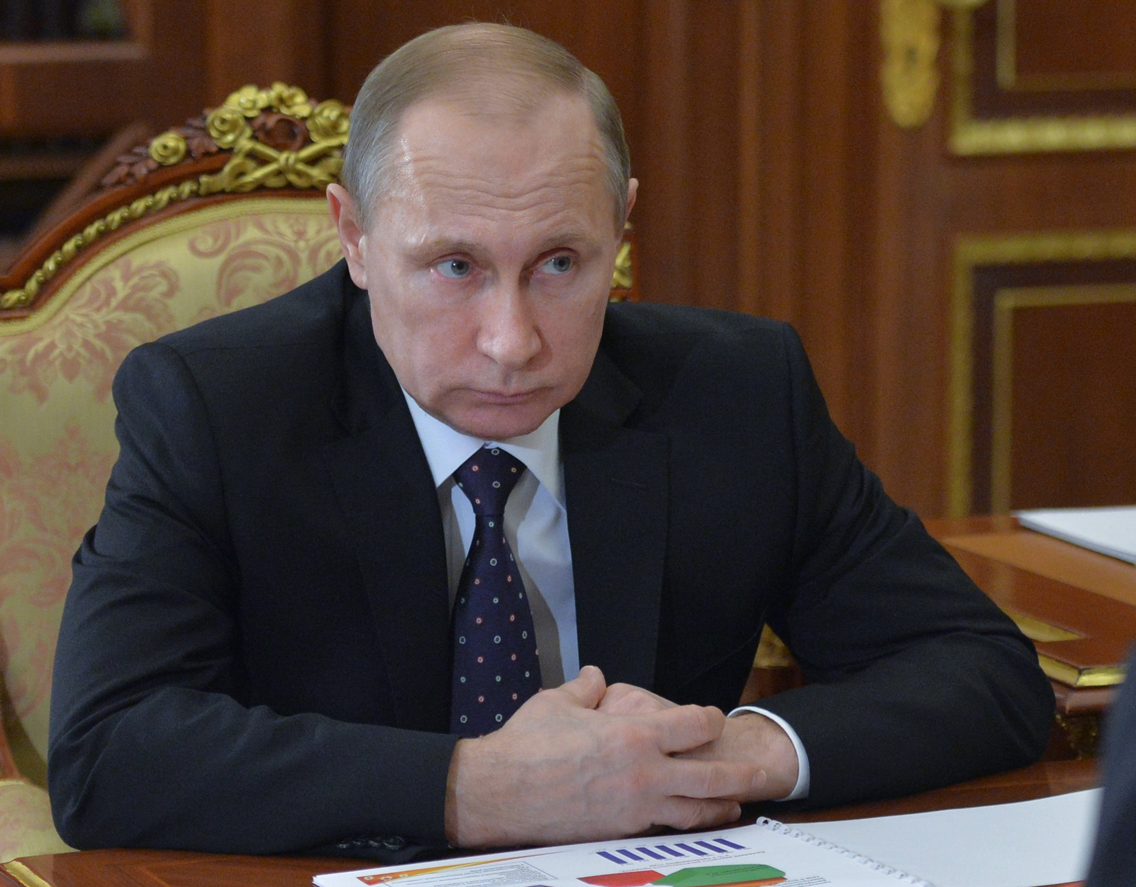 Controversial Russian cartoons show Putin's enemies violently killed