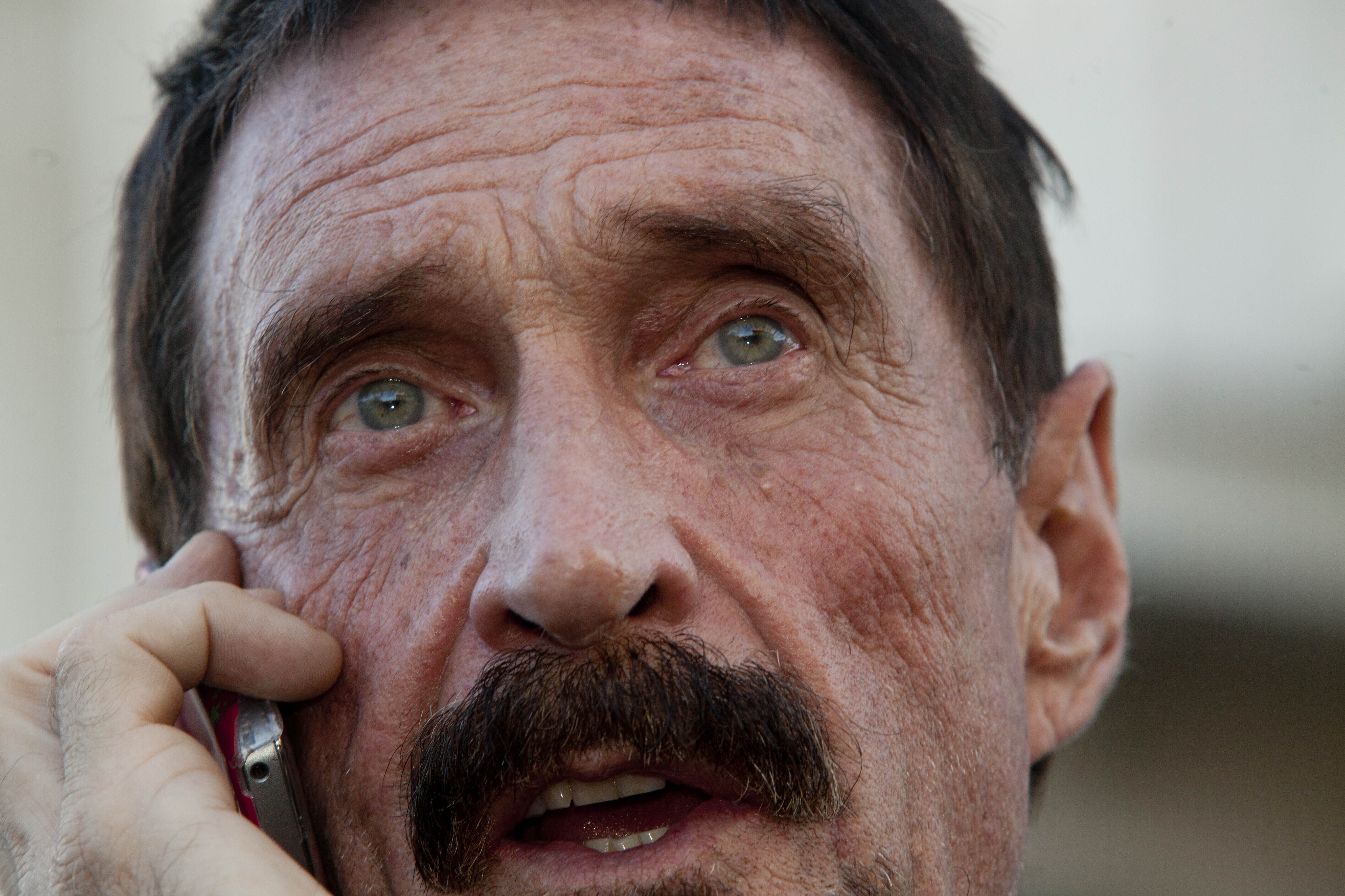 Westlake Legal Group b6bb1905-John-McAfee-in-Guatemala-2 John McAfee released after being detained in the Dominican Republic James Rogers fox-news/world/world-regions/dominican-republic fox-news/world fox-news/tech/topics/software fox-news/tech/topics/security fox-news/tech/topics/hackers fox news fnc/tech fnc article 13d42fc7-e538-559c-adb5-463cca5cb007