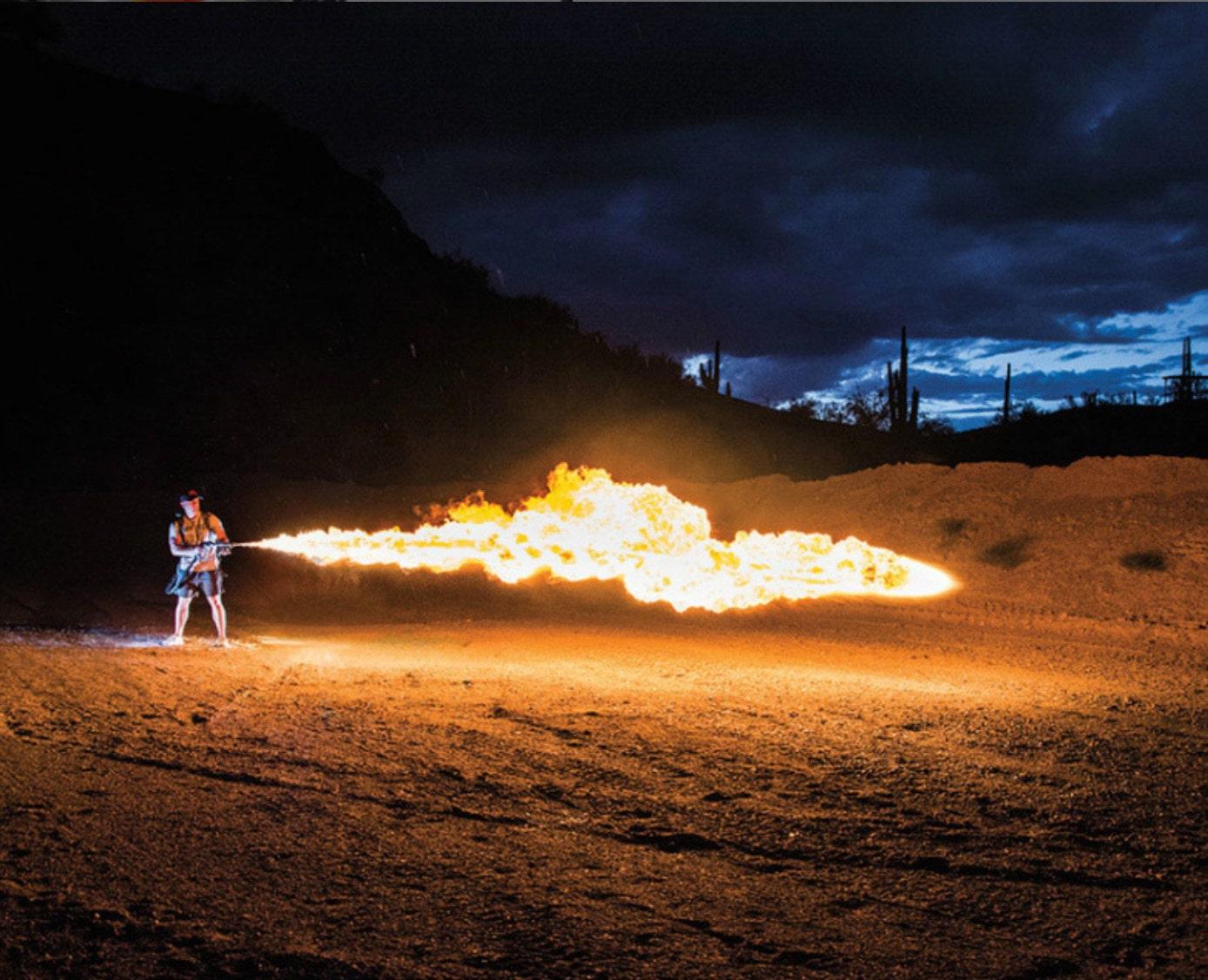 Elon Musk thrusts civilian flamethrowers into the spotlight