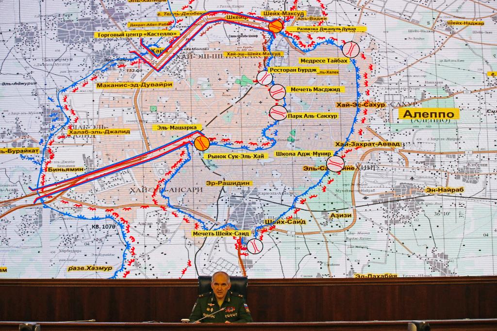 The Latest: Syria military urges residents to leaveAleppo