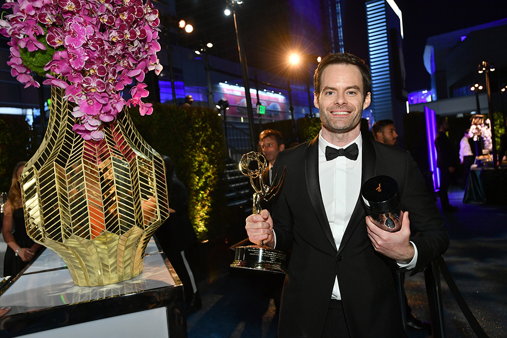 Bill Hader shares thoughts on sensitivity in comedy, friendship with Henry Winkler after Emmys win