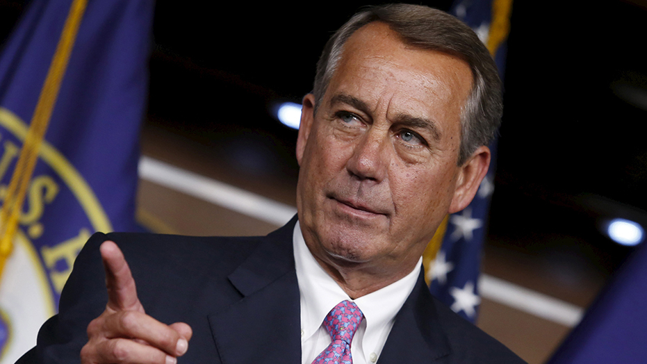 Ex-Speaker Boehner pitches investors on marijuana industry: 'All in on cannabis'